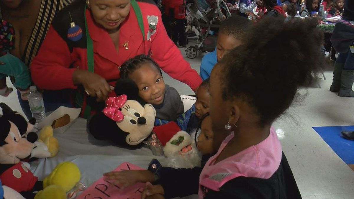 Gaston Point Christmas organizers get back more than they give