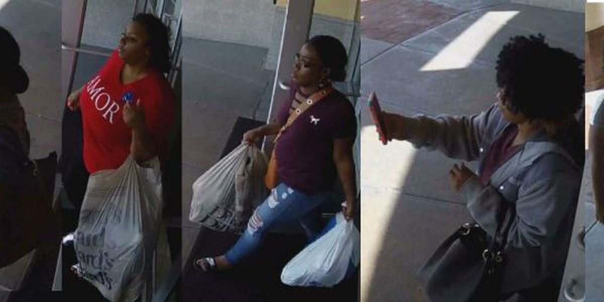 Biloxi Police: 5 women steal thousands from Victoria's Secret in under 3 minutes