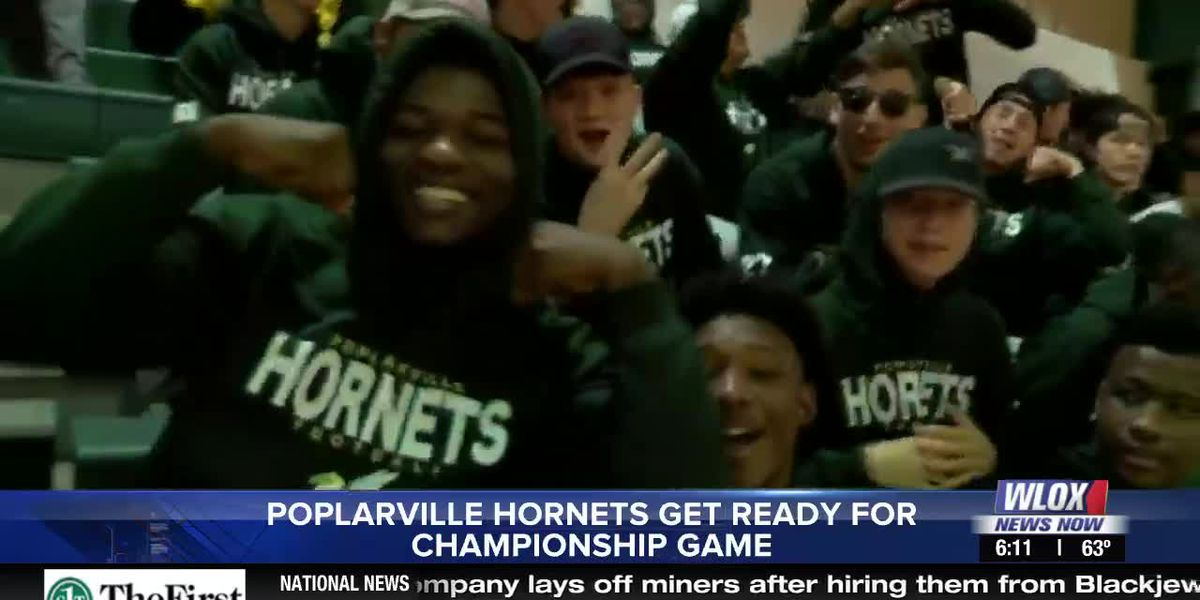 Pep rally gets Poplarville Hornets ready for 4A state championship game