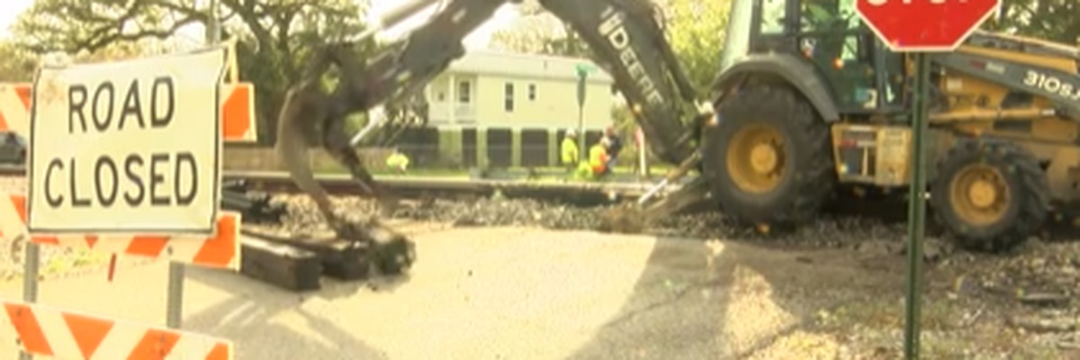 CSX railroad project affecting police, fire and ambulance drivers