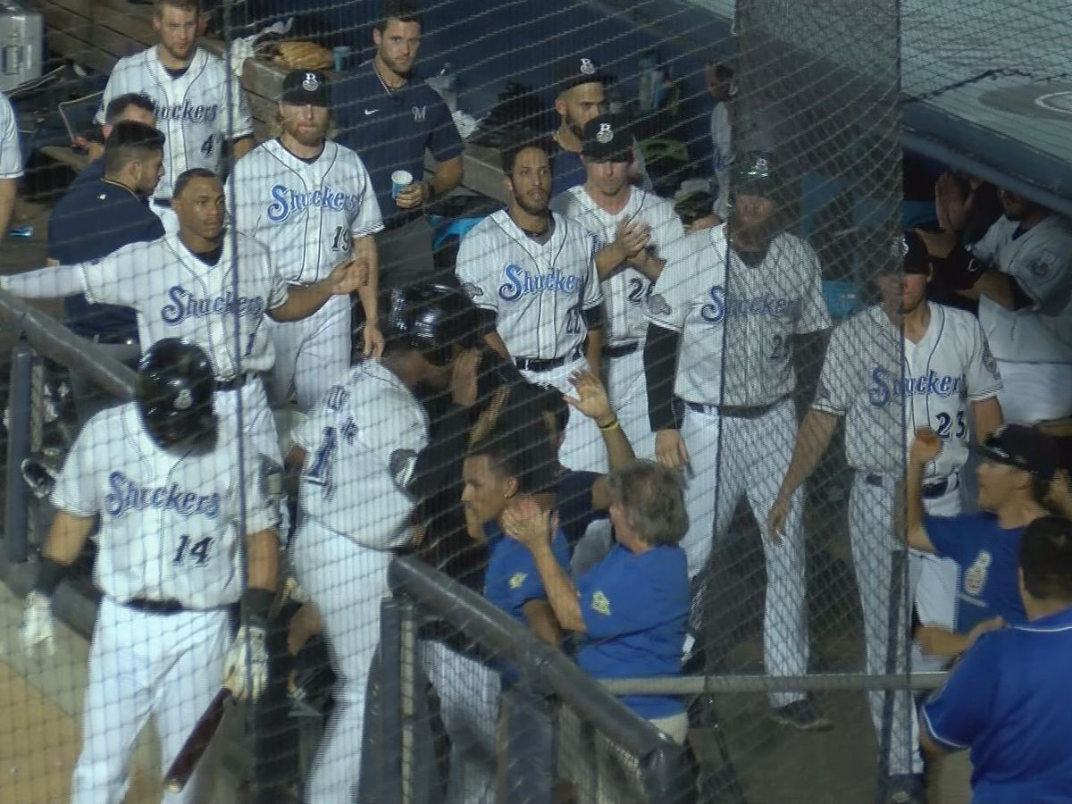 Shuckers Season Ends In Game 4 of Southern League Championship
