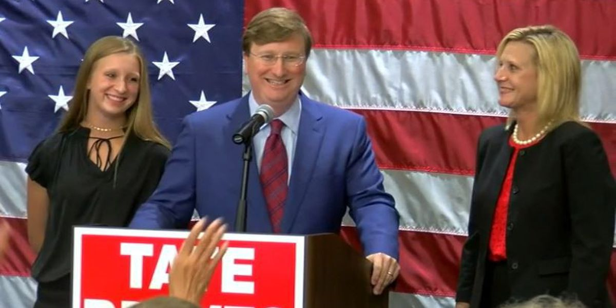 Tate Reeves secures Republican nomination for Governor of Mississippi