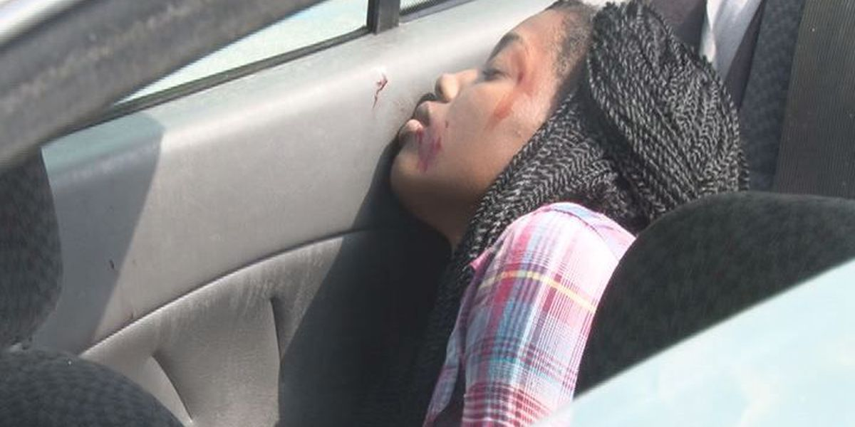Mock accident teaches high school students consequences of driving drunk