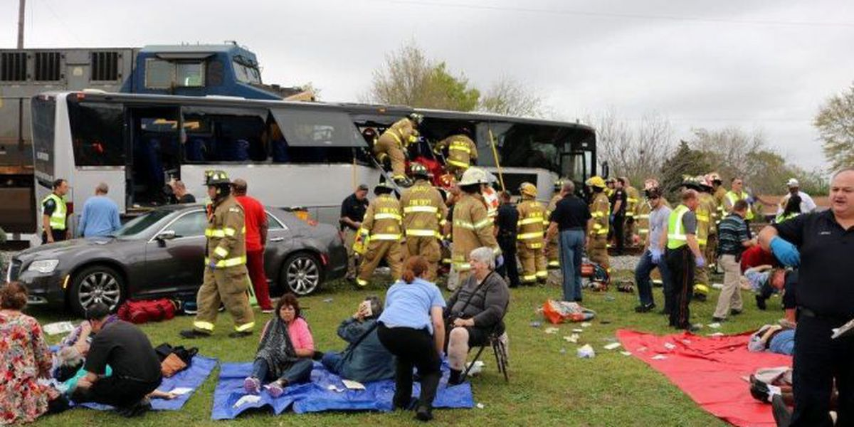 Bus passenger seeks $25 million in damages from train accident