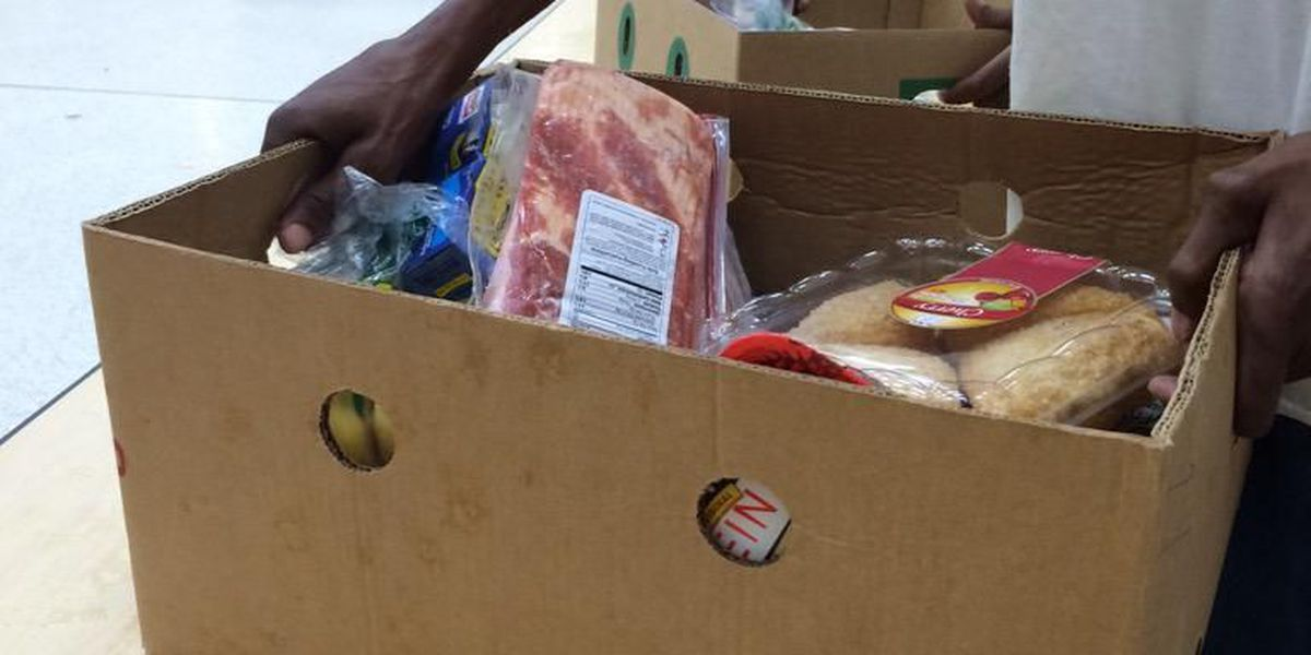 10,000 pounds of food handed out in Biloxi