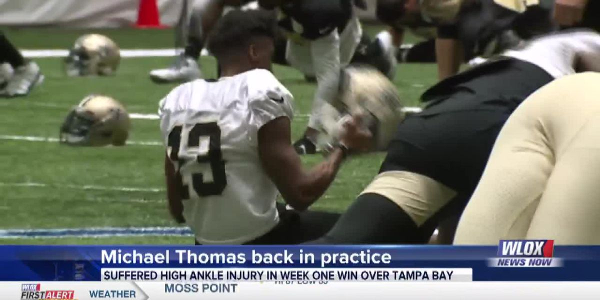 Michael Thomas returns to practice in limited capacity