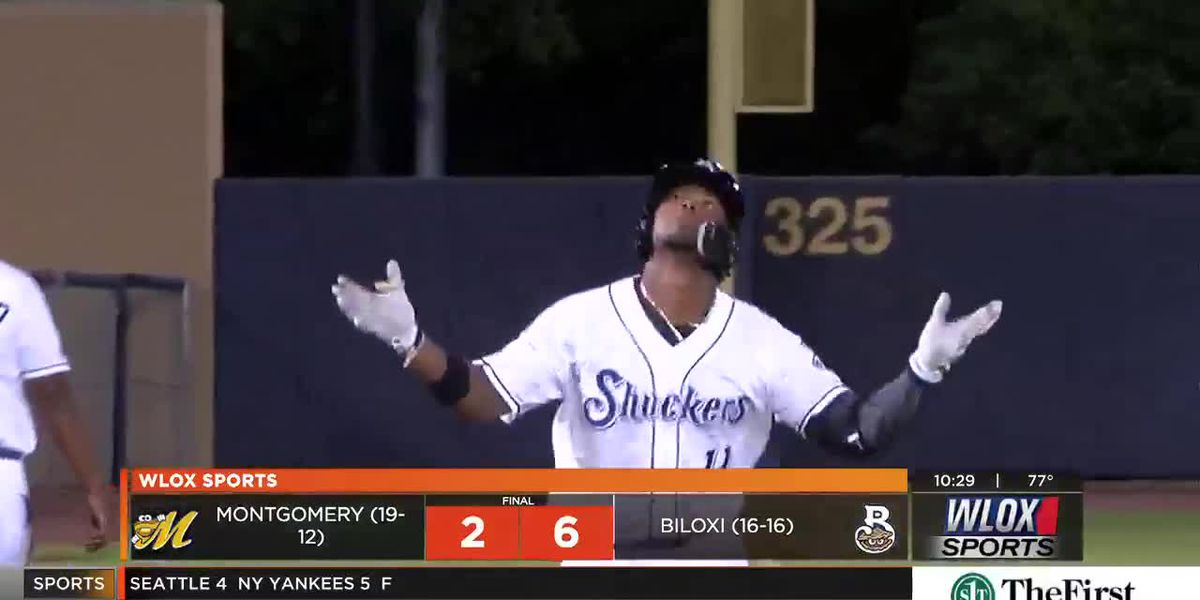 Quality Start From Supak, Timely Hits Deliver Shuckers 6-2 Win Over Montgomery