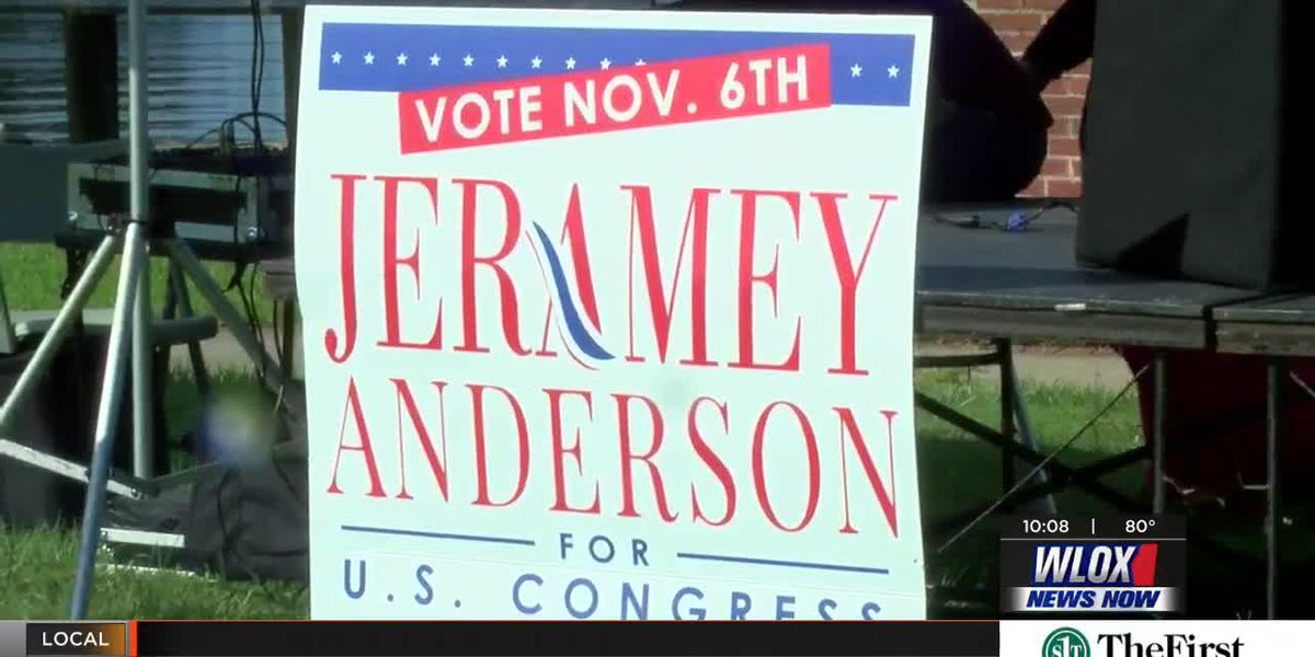 Congressional candidate Jeramey Anderson kicks off campaign tour