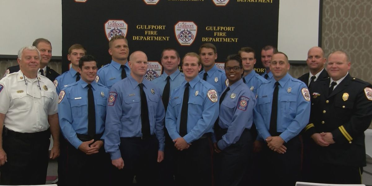 Eleven men and women graduate from coast fire academy