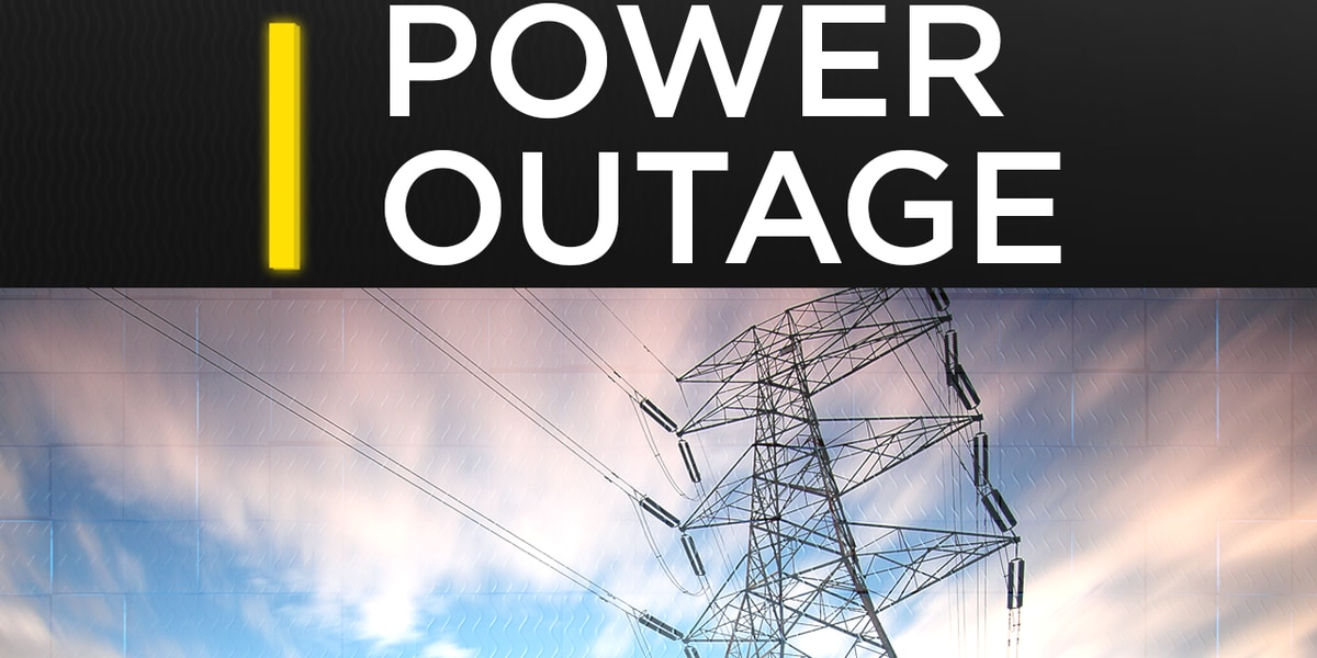 Over 7,000 without power in South Mississippi