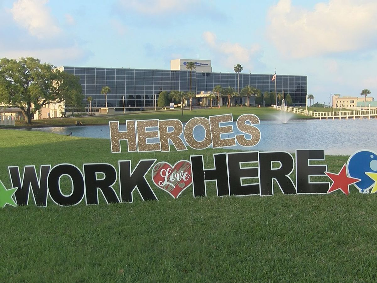 Healthcare heroes across Gulf Coast step up to combat COVID-19