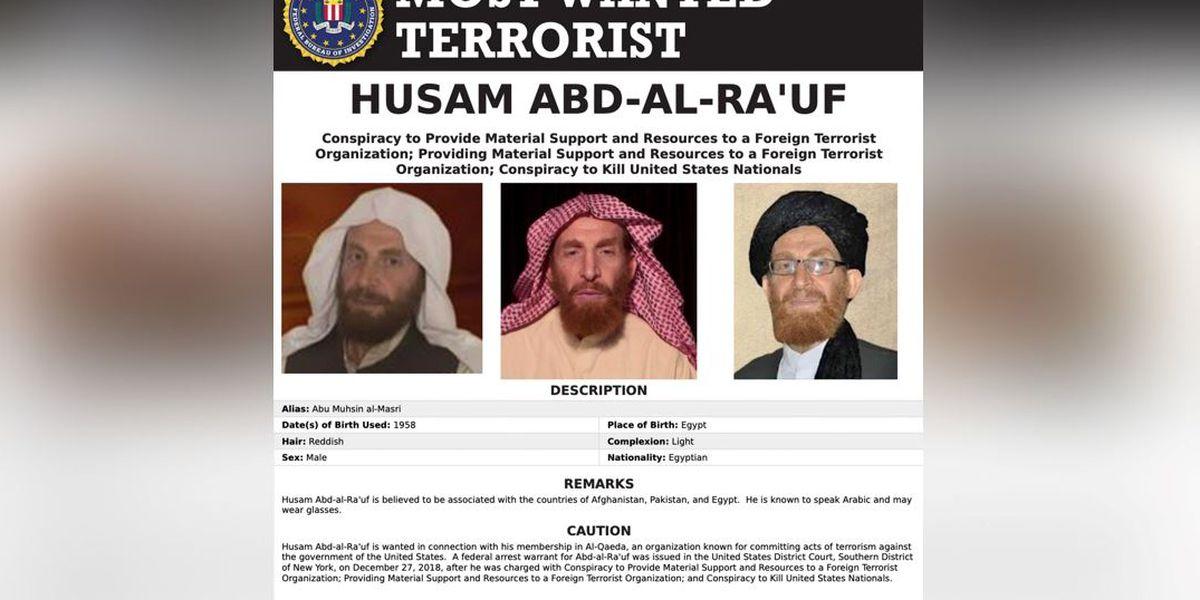 Al-Qaida leader wanted by FBI killed, Afghan official says