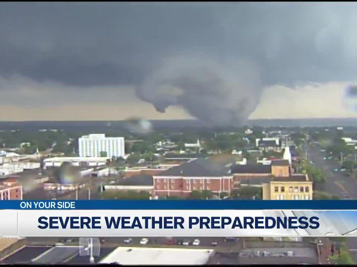 Governor declares spring severe weather preparedness week