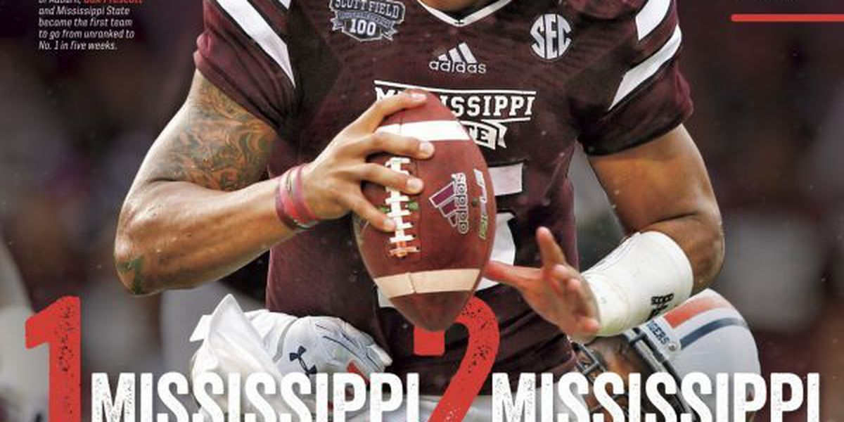 #1 Mississippi State makes cover of Sports Illustrated 2 weeks in a row