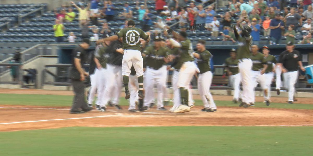 Grisham walks off Pensacola