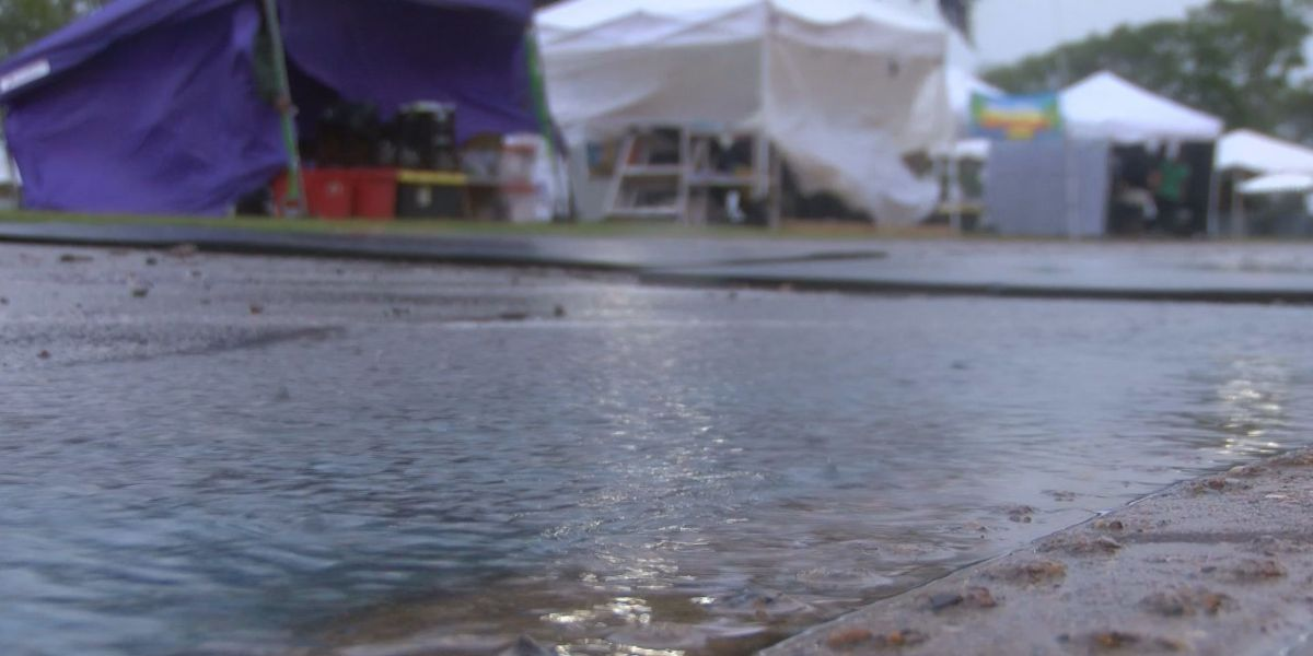 Crawfish Music Festival moving ahead rain or shine
