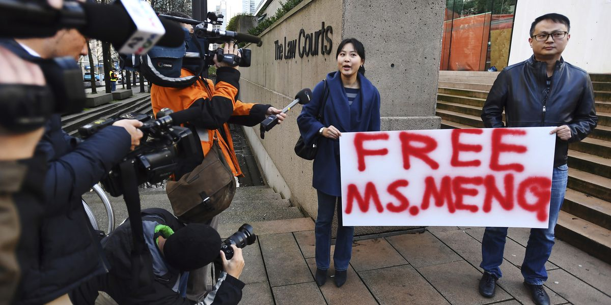 China: Detention of Huawei exec 'vile'