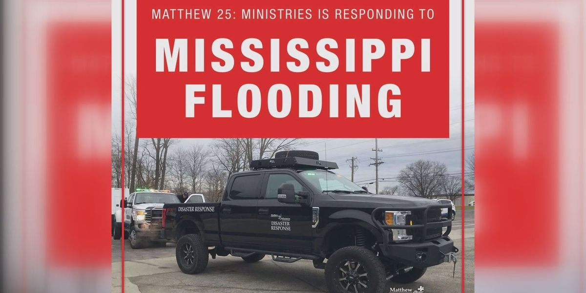 Ministry to provide laundry services, personal care kits to Mississippi flood victims