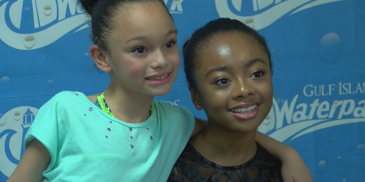 Disney's Skai Jackson visits fans in Gulfport