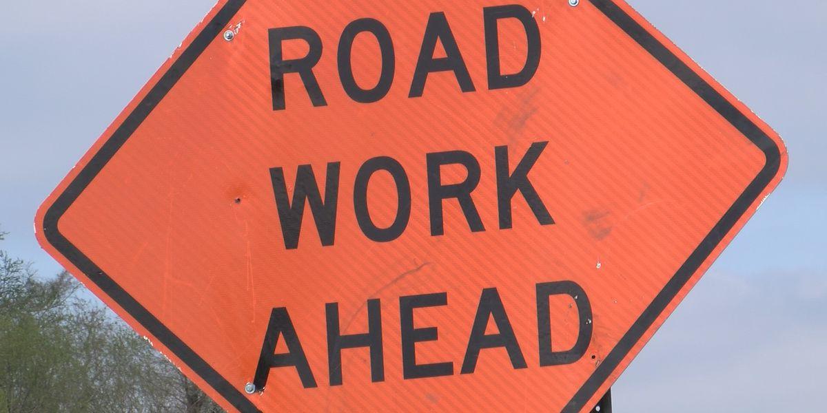 Road repairs temporarily close turning lane on D'Iberville Blvd.