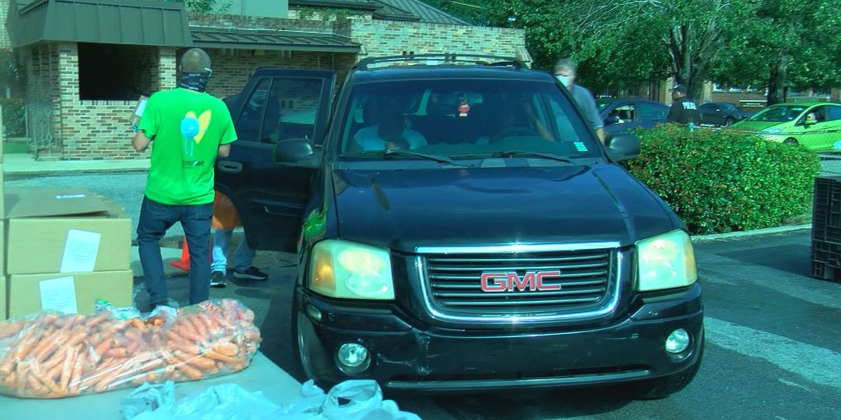 Food distribution keeps those in need from going hungry