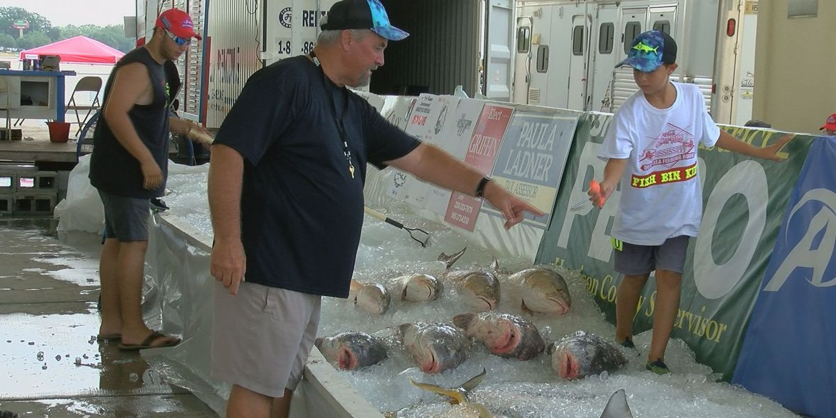New fishing rodeo weighmaster follows tradition of family involvement