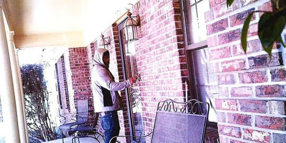 Sheriff: Home security cameras show same man involved in 5 burglaries in Harrison County