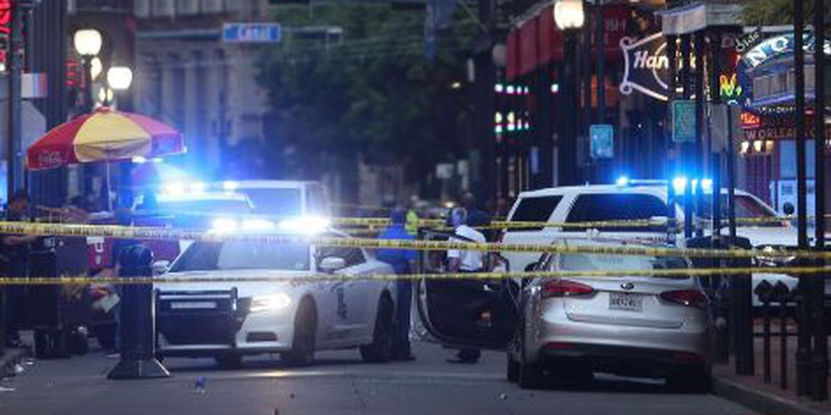 New video shows state trooper shoot man driving wrong way on Bourbon St.