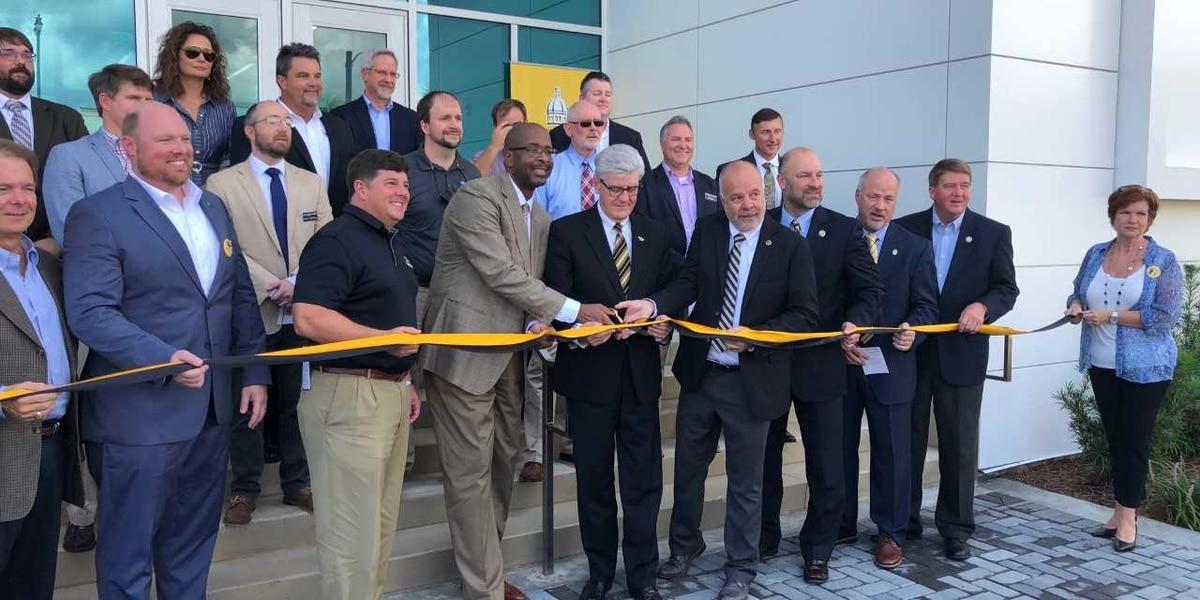 Ribbon is cut on new $12 million dollar marine research center