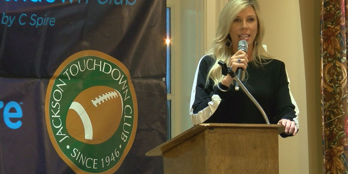 First-ever female NFL referee comes home to Mississippi to discuss her historic journey