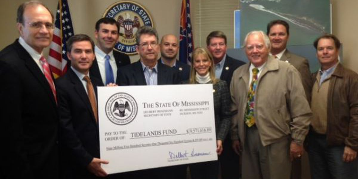 MS Coast gets $9.5M check to promote access, research in the Gulf