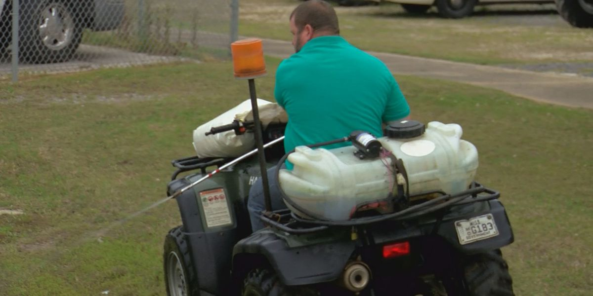 Harrison County battles mosquito breeding