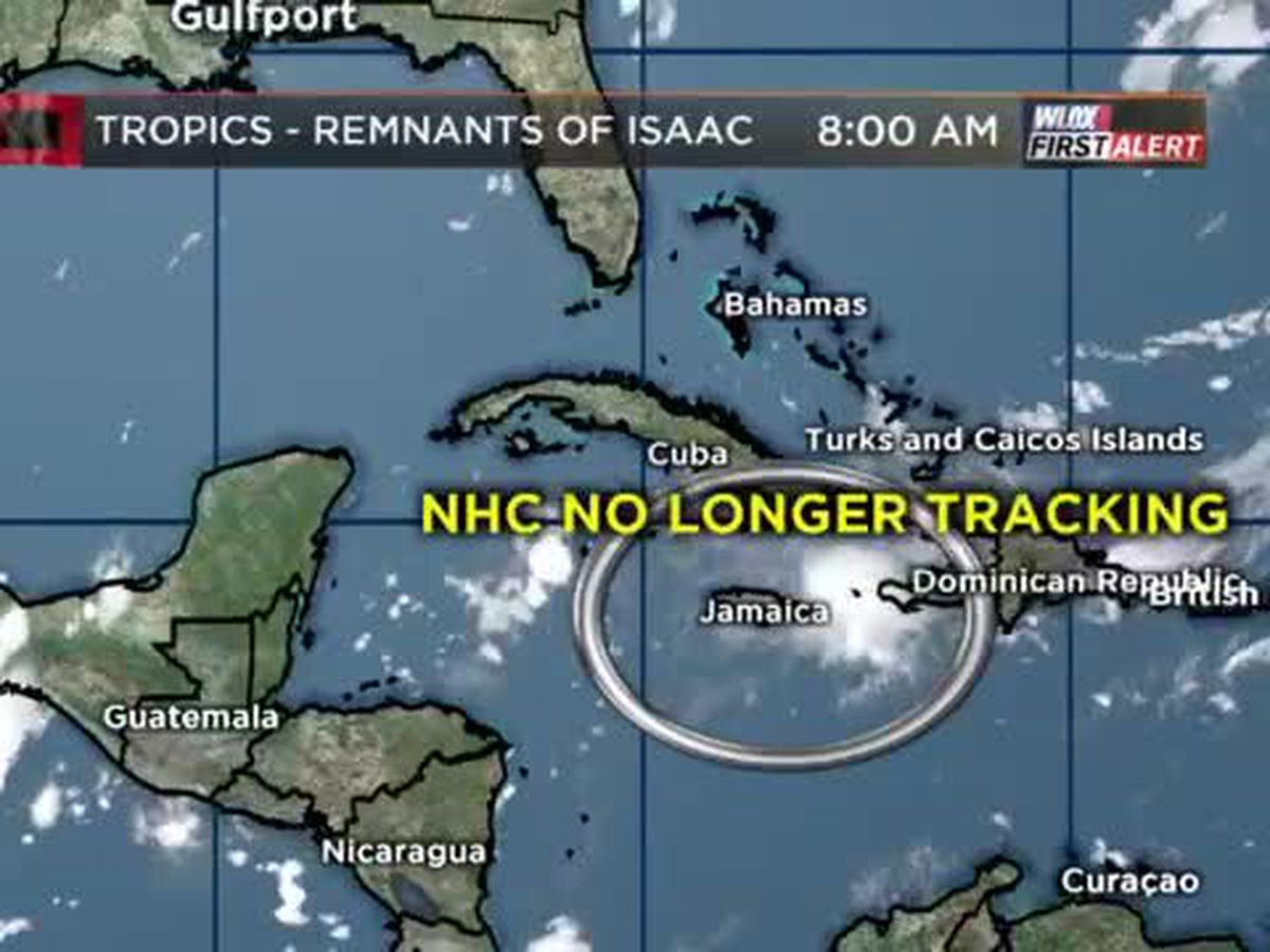 Watching Isaac's Remnants approach Gulf of Mexico this week