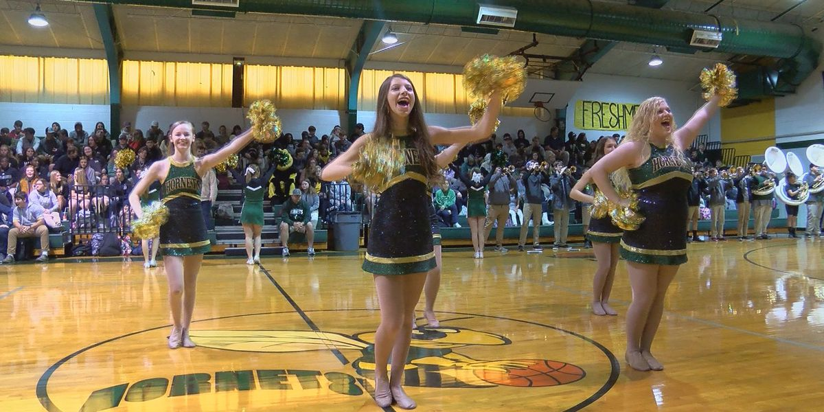 Pep rally gets Poplarville Hornets ready for state championship game