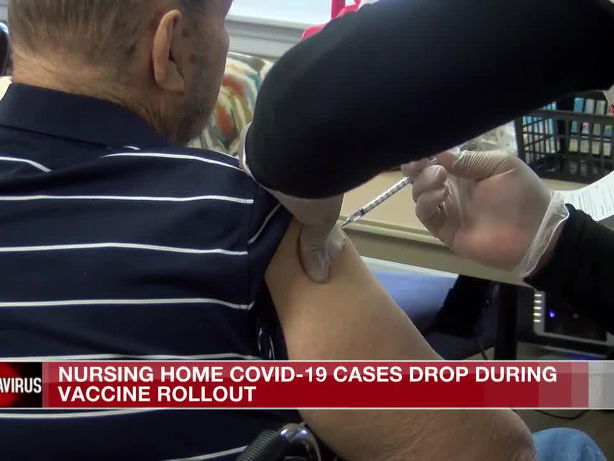 Nursing home COVID-19 case drop linked to vaccinations, according to report