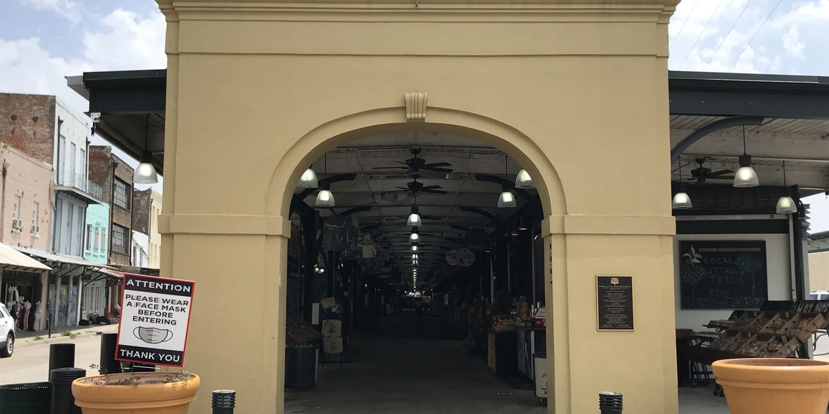 French Market in New Orleans reopens
