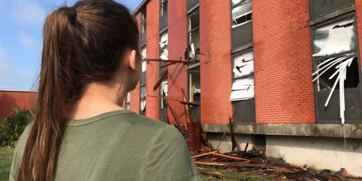 William Carey students coming to grips with devastating tornado