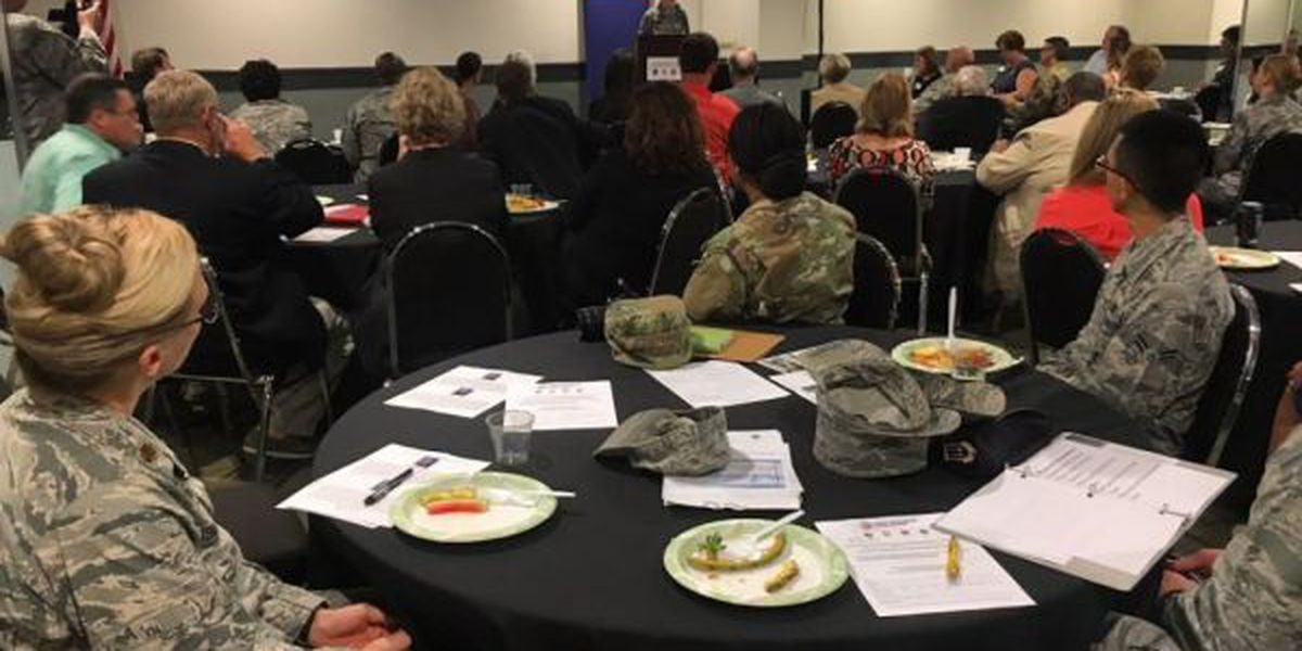 Coast military bases present updates at annual meeting