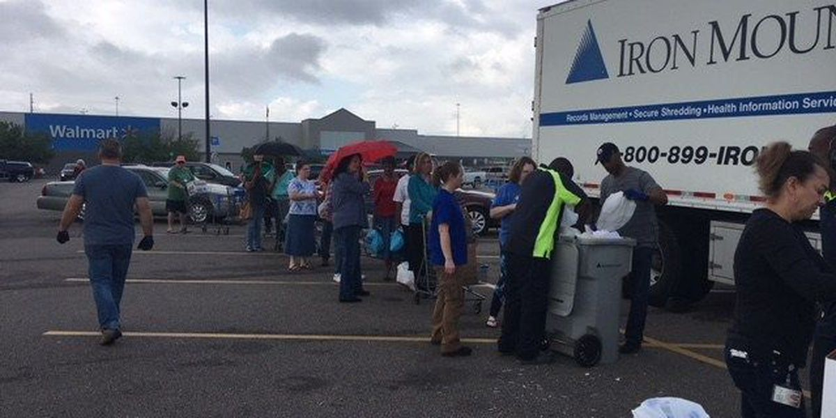Shred Day: D'Iberville truck fills up in just a few hours
