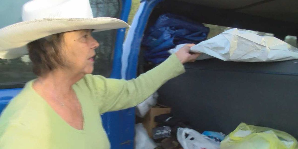 When temperatures drop, a South Mississippi woman steps up to help the homeless