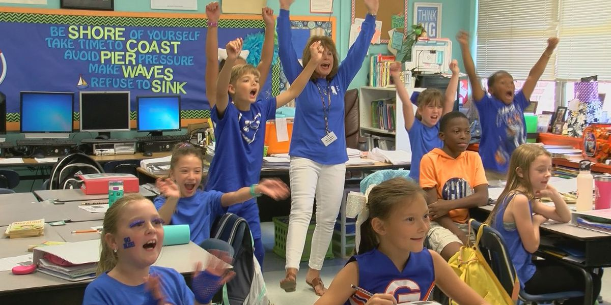 Bayou View Elementary School makes Blue Ribbon for second time