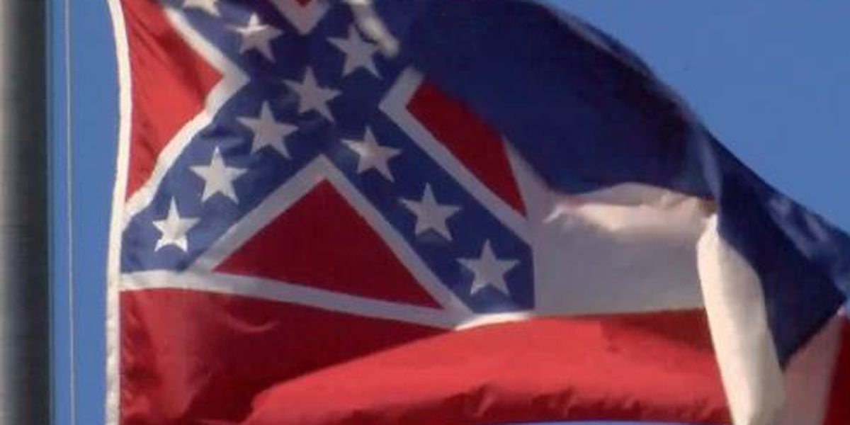 State flag flies once more over city halls in Pascagoula, Ocean Springs