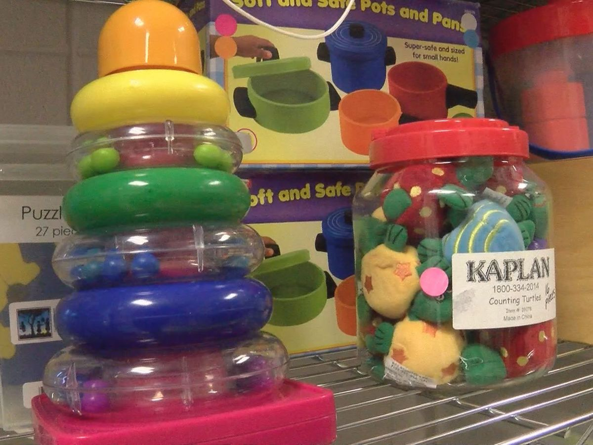 Toy lending library in Gulfport provides thousands of free materials for parents