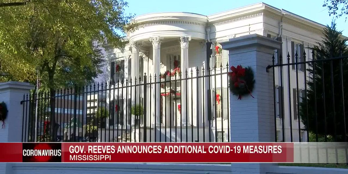Reeves says Christmas parties at the Governor's Mansion still on the schedule