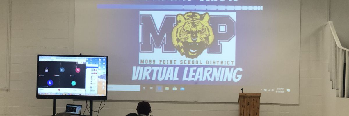 Moss Point prepares for all students to return virtually