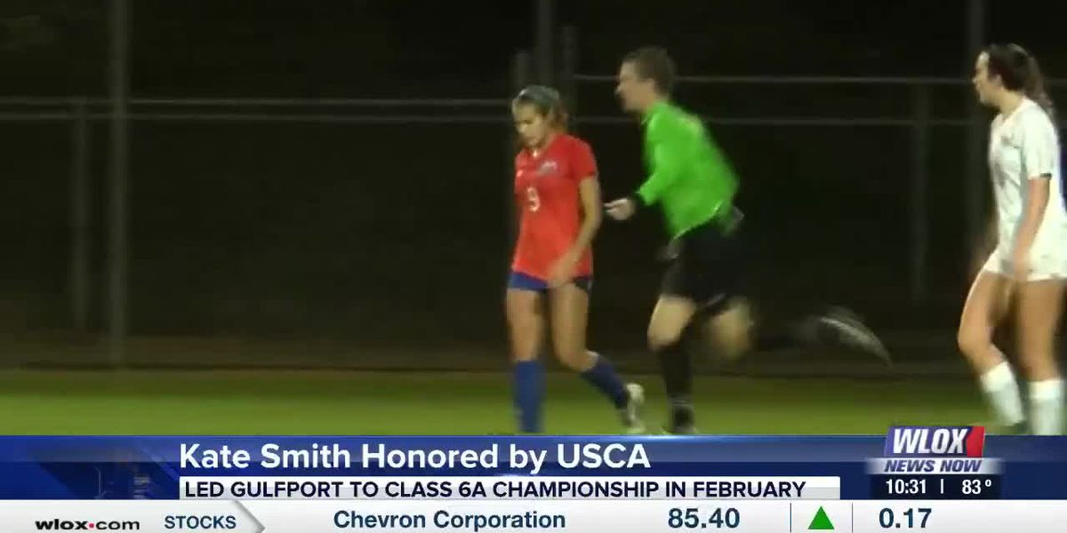 Gulfport's Kate Smith honored United Soccer Coaches Association