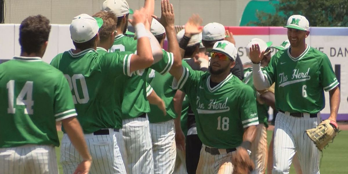 Marshall outlasts LA Tech 6-4 in twelve innings