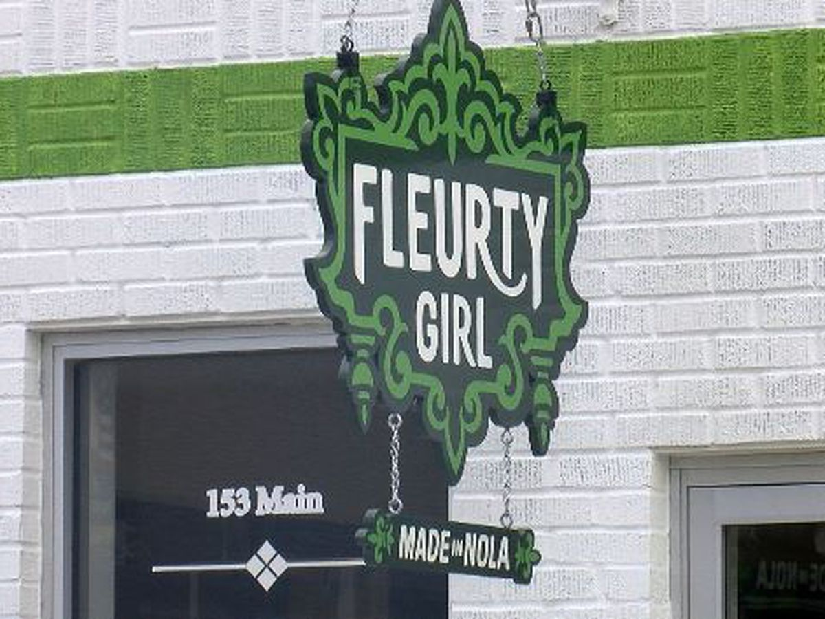 The Big Easy's Fleurty Girl has arrived in South Mississippi