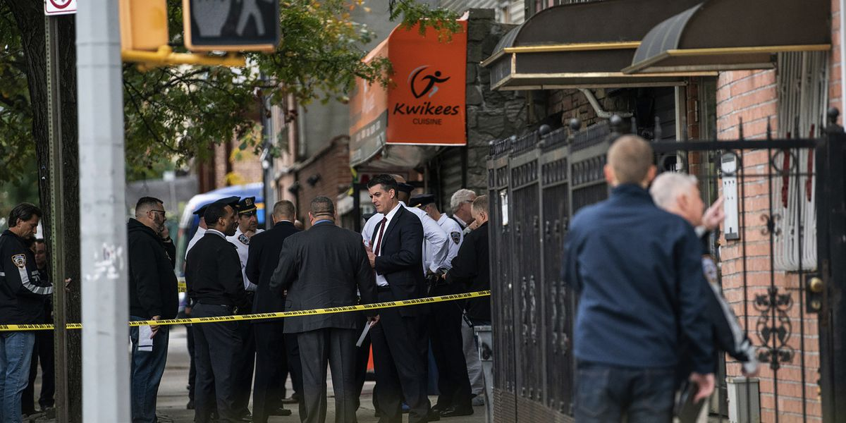 4 dead in shooting at illegal gambling site in Brooklyn