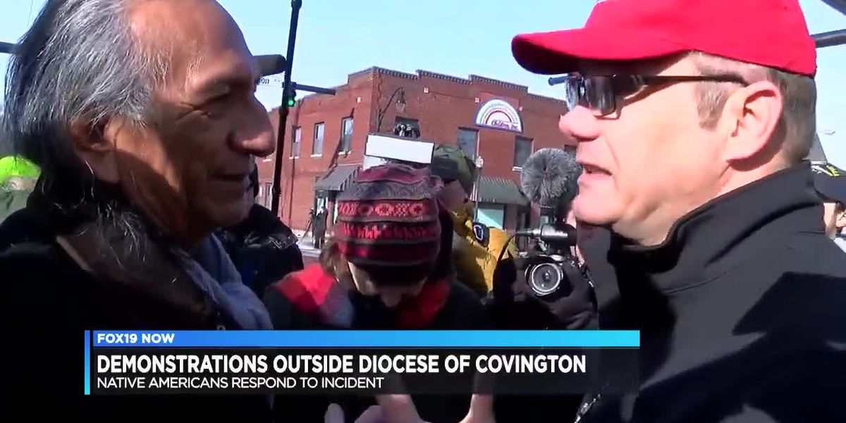 Protest at Diocese of Covington shows both sides coming together
